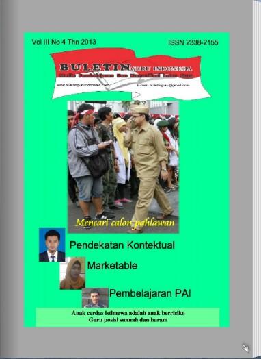Cover Buletin Guru Vol III No 4 thn 2013 A